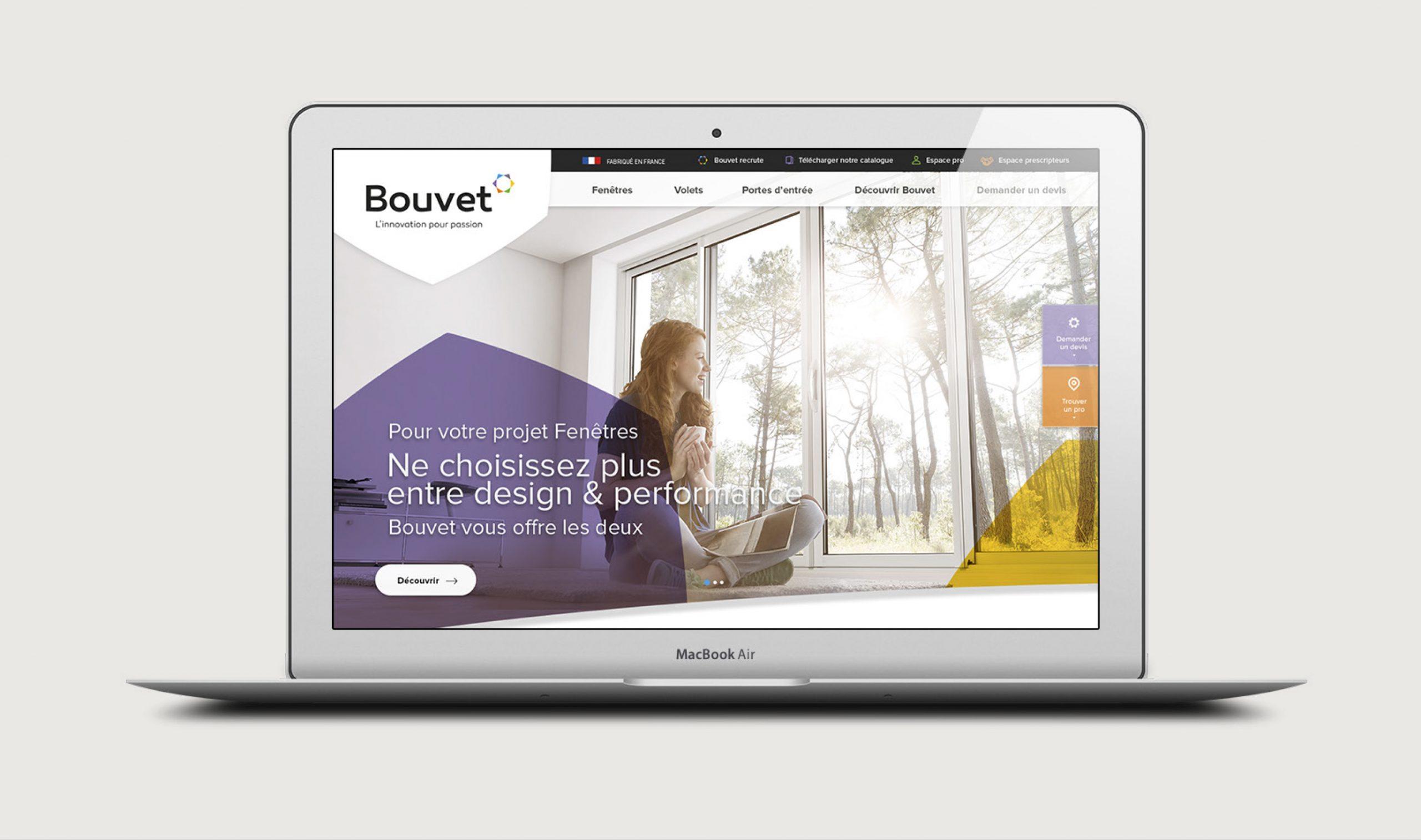 Site internet Bouvet