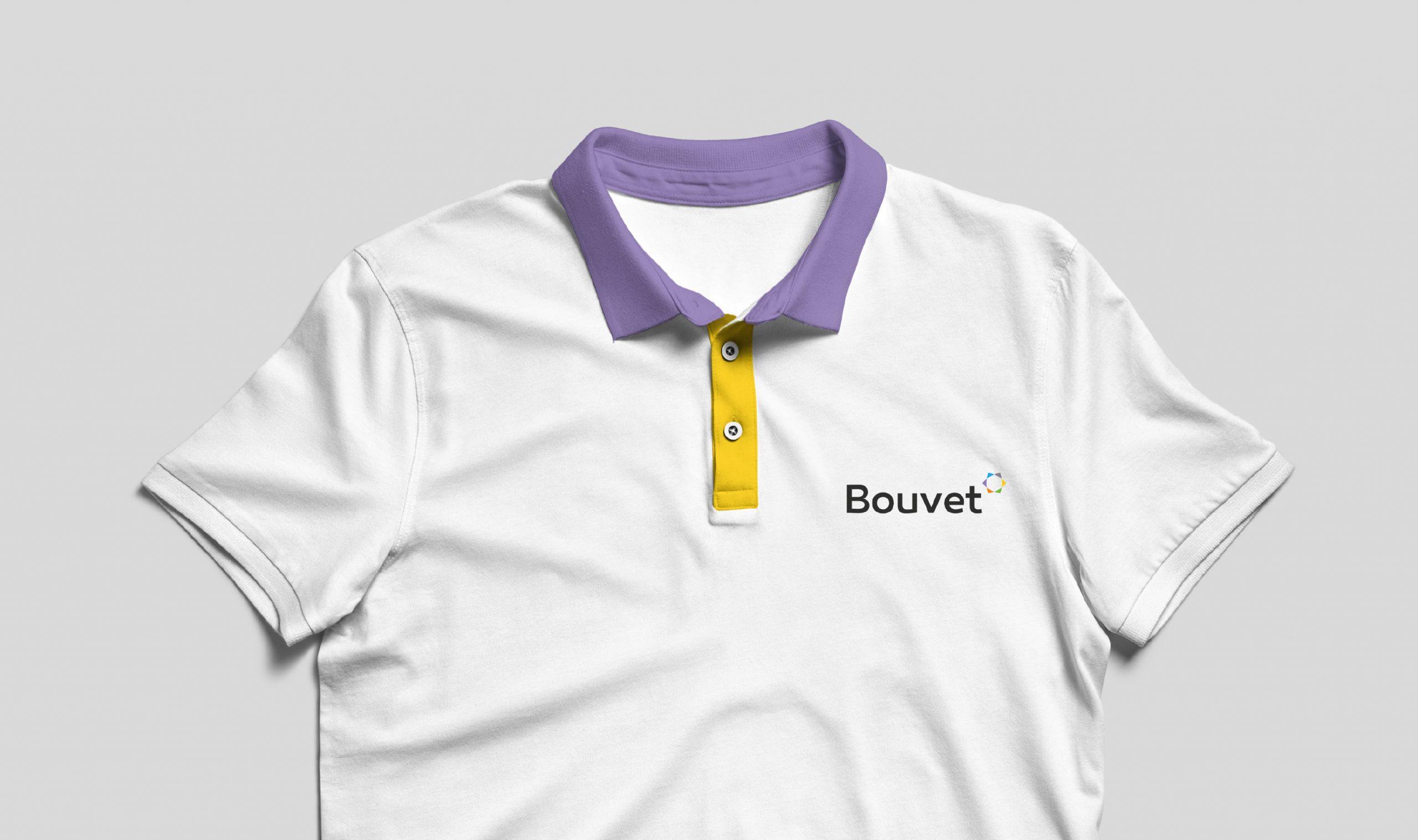 Déclinaisons logo Bouvet sur T-shirt