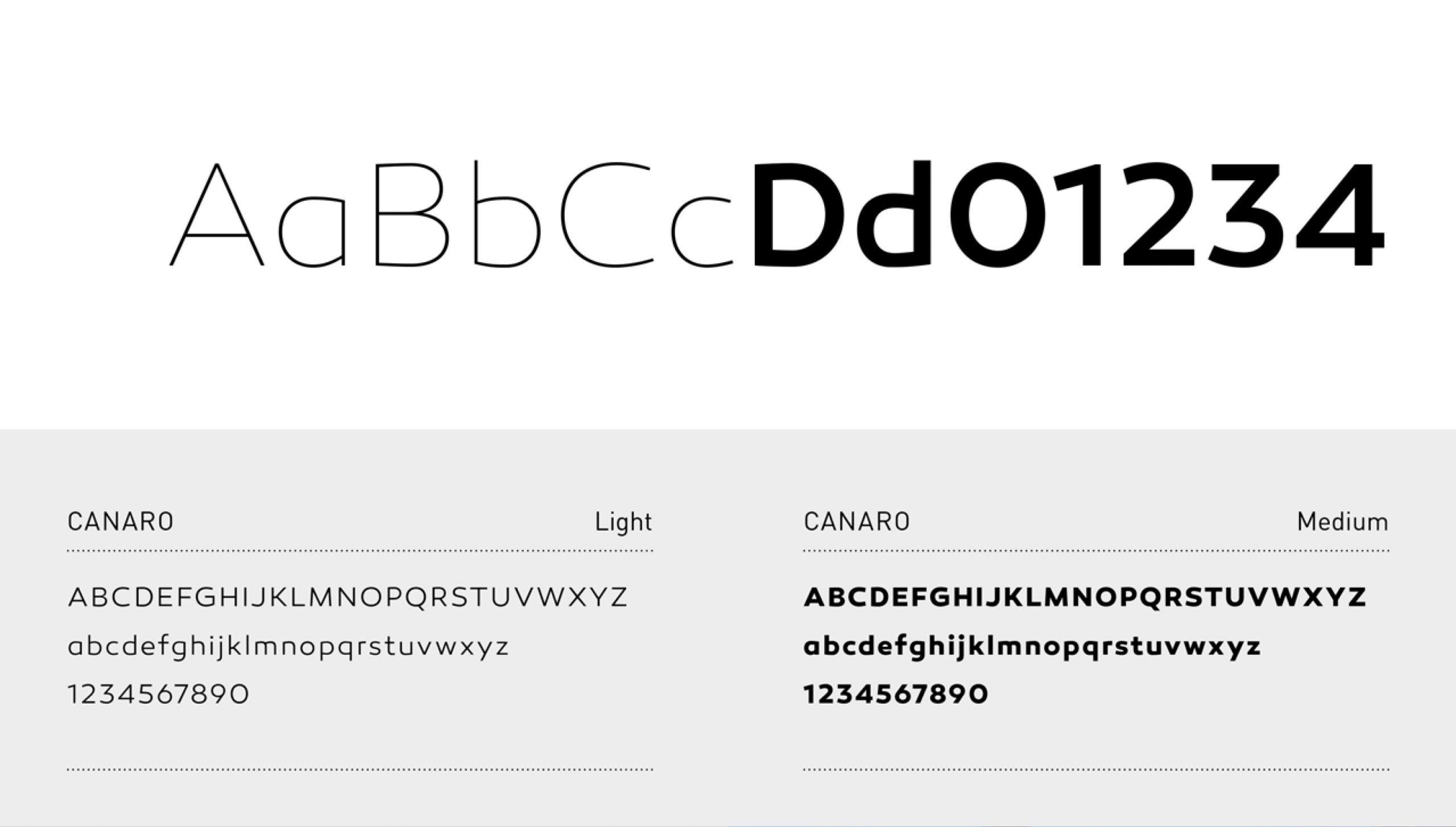 Typographie Bouvet