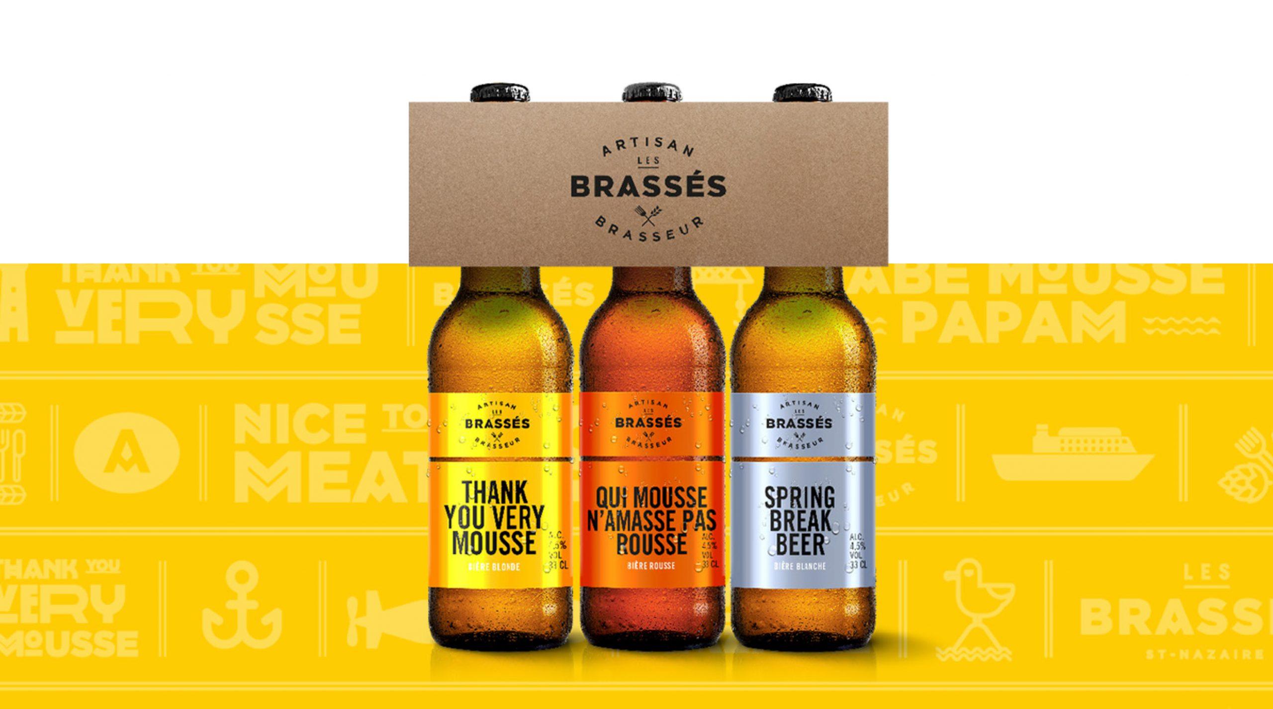 Les brassés visuel bière