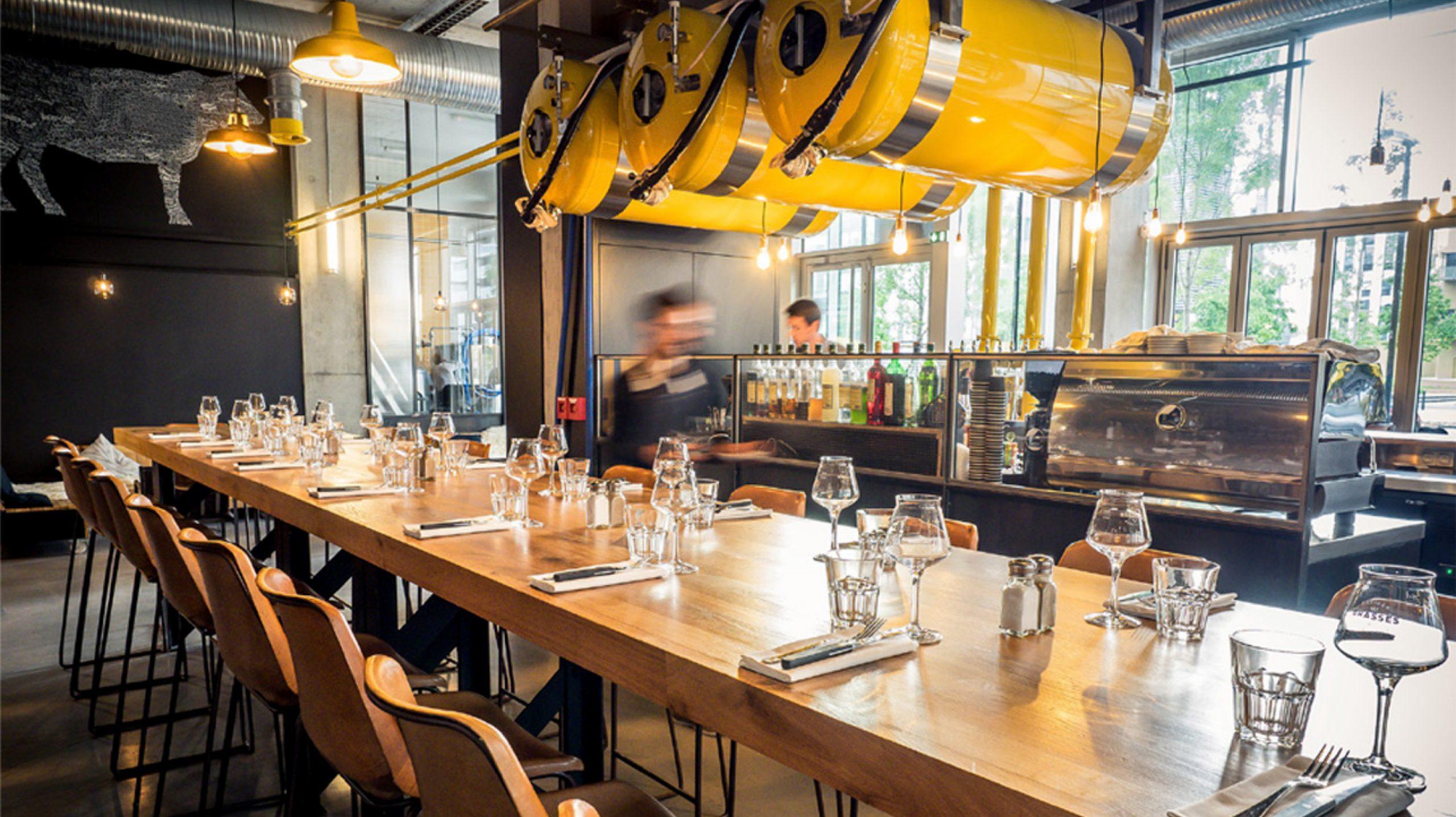 Table restaurant brasserie Les Brassés
