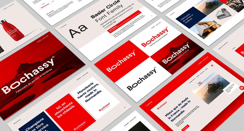 Identité visuelle et univers de marque Bochassy