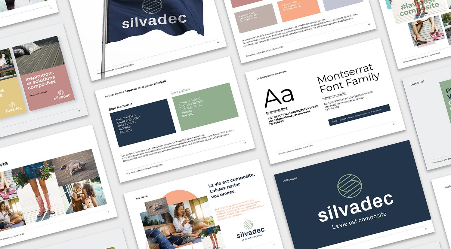 Identité visuelle et univers de marque Silvadec