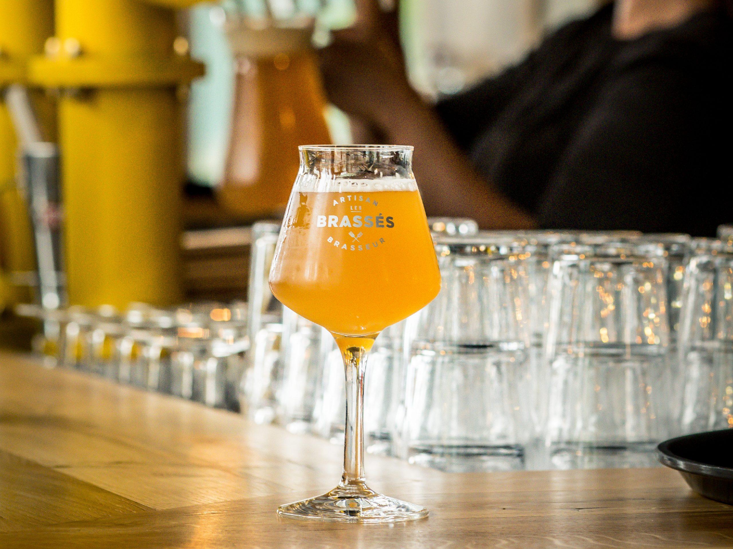 Bière dans la brasserie Les Brassés à Nantes