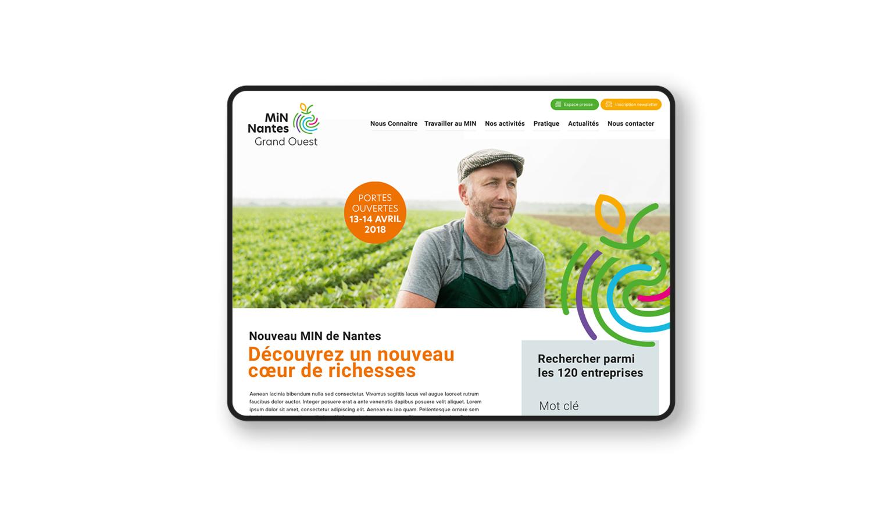 Site internet MiN de Nantes